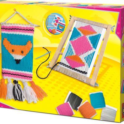 tejer- juguete creativo
