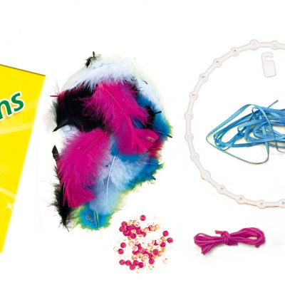 Atrapasueños Infantil-Manualidad-creatividad