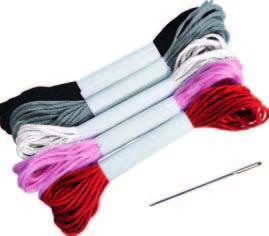 manualidad infantil- coser